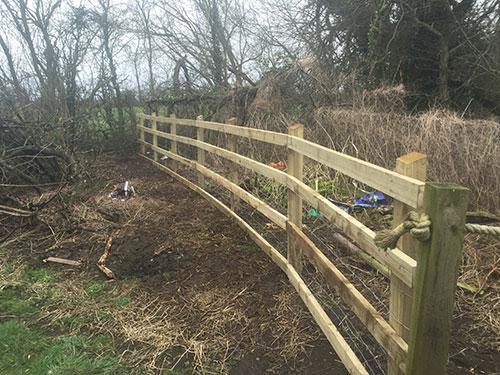 Fencing in Shropshire