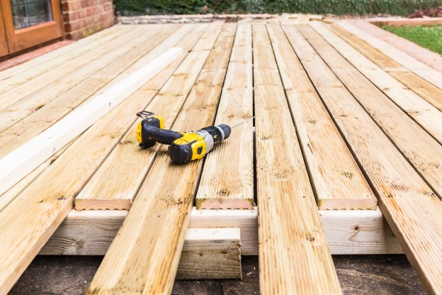 Decking in Shropshire