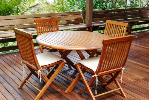 Purchase your wooden garden furniture from Weston Sawmill Today